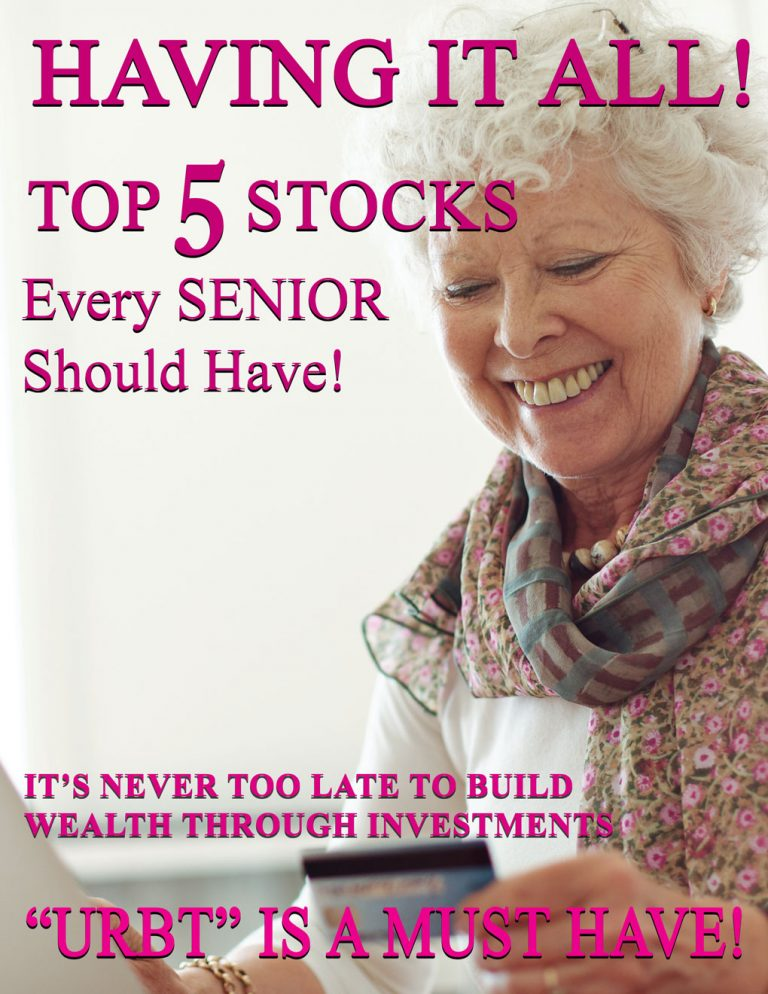 The top 5 stocks every senior should have